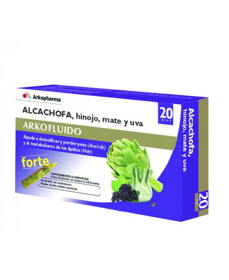 ARKOFLUIDO ALCACHOFA FORTE 20 AMPOLLAS BEBIBLES 15 ML