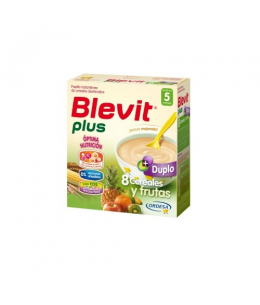 BLEVIT PLUS DUPLO 8 CEREALES Y FRUTAS 1 ENVASE 600 G