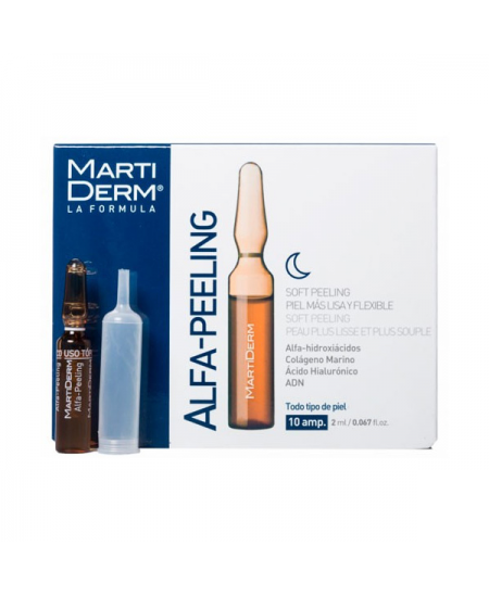 MARTIDERM NIGHT RENEW 10 AMPOLLAS
