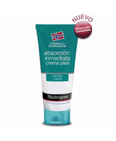 NEUTROGENA FORMULA NORUEGA PIES CREMA ABSORCION INMEDIATA 1 ENVASE 100 ML