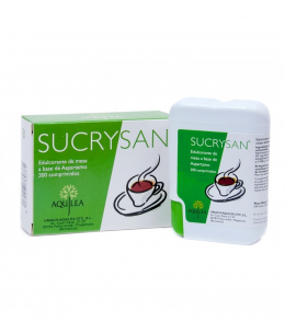 SUCRYSAN COMP ASPARTAMO 300 COMP