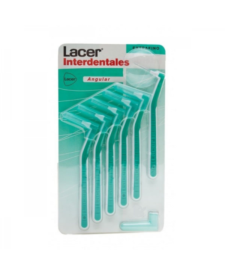CEPILLO INTERDENTAL LACER ANGULAR EXTRAFINO 10 U