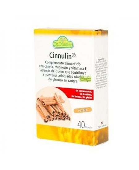 CINNULIN 40 CAPSULAS
