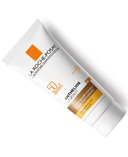 ANTHELIOS UNIFIANT SPF- 50 CREMA MOUSSE COLOR LA ROCHE POSAY TONO 2 40 ML