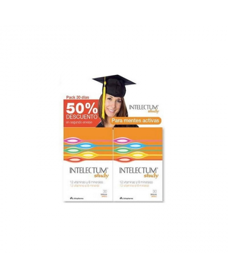 INTELECTUM STUDY 30 CAPSULAS