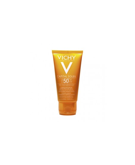 CAPITAL SOLEIL SPF 50+ CREMA FACIAL PROTECCION CELULAR PROFUNDA P NORMAL Y SECA 50 ML