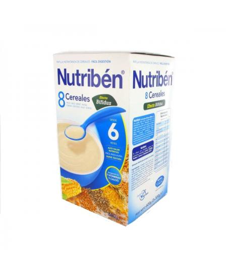 PAPILLA NUTRIBEN 8 CEREALES DIGEST 1 ENVASE 600 G
