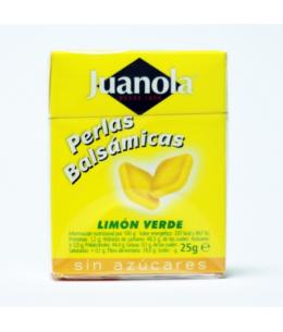 JUANOLA PERLAS LIMON VERDE 1 ENVASE 25 G