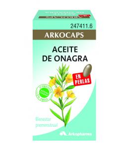 ACEITE DE ONAGRA ARKOPHARMA 500 MG 100 CAPSULAS