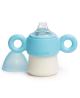 BIBERON 0 BPA SILICONA SUAVINEX ENTRENA ANTIDERRAME ASAS + 6 M FIRST 150 ML