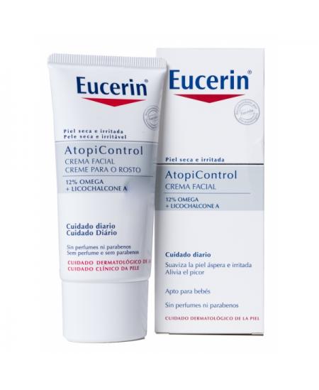 EUCERIN ATOPICONTROL CREMA FACIAL 1 ENVASE 50 ML