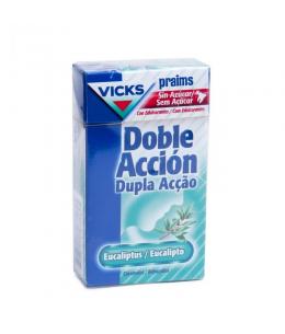 CARAMELOS PRAIMS DOBLE ACCION SIN AZUCAR 1 ENVASE 40 G