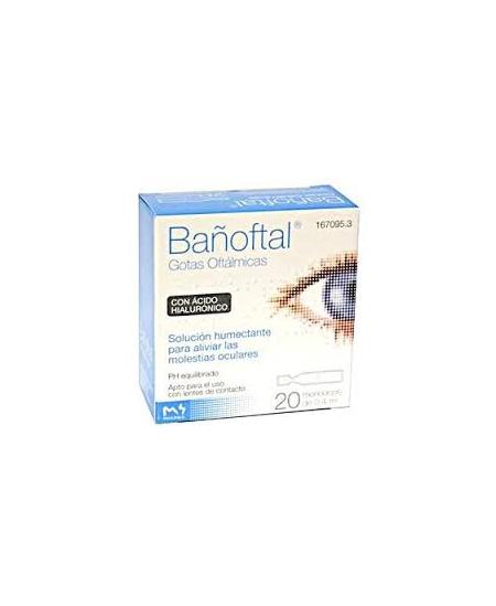 BAÑOFTAL GOTAS OFTALMICAS 20 MONODOSIS 0,4 ML