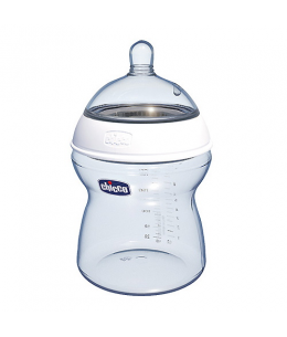 BIBERON 0 BPA PLASTICO PP T SILICONA CHICCO STEP UP 2 0% BISFENOL BOCA ANCHA FLUJO NORMAL 2 M+ 1