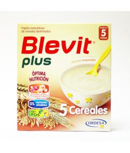 BLEVIT PLUS 5 CEREALES 1 ENVASE 600 G