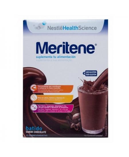 MERITENE EXTRA 1 ENVASE 450 G SABOR CHOCOLATE