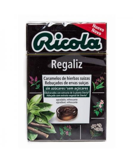 RICOLA CARAMELOS SIN AZUCAR 1 ENVASE 50 G SABOR REGALIZ