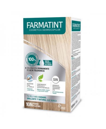 FARMATINT TINTE CAPILAR TONO 10 N RUBIO PLATINO