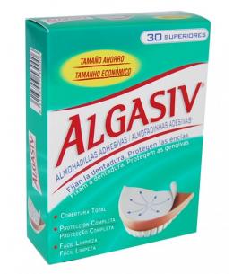 ALGASIV ALMOHADILLAS ADHESIVAS PROTESIS 30 U SUPERIOR