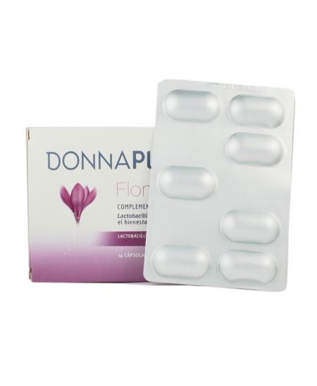 DONNA PLUS+ FLORA INTIMA 14 CAPSULAS