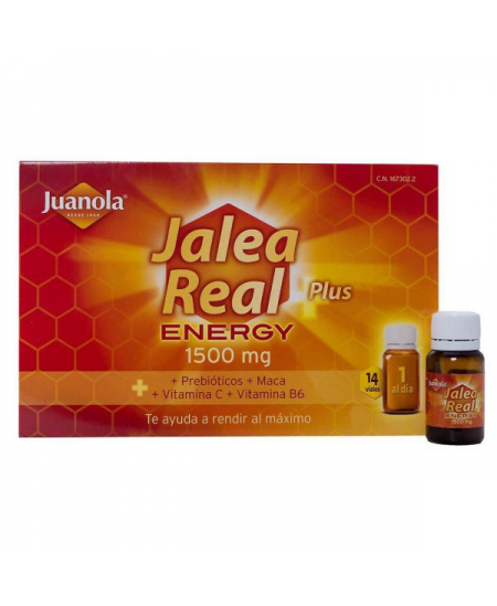 JUANOLA JALEA REAL ENERGY 14 AMPOLLAS BEBIBLES