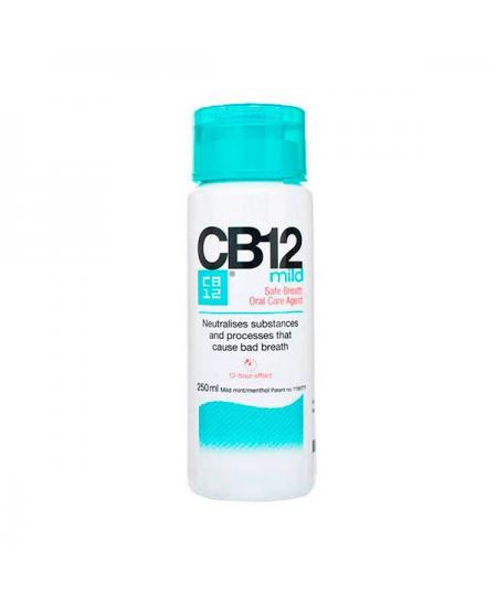 CB12 MILD ENJUAGUE CUIDADO BUCAL 1 ENVASE 250 ML
