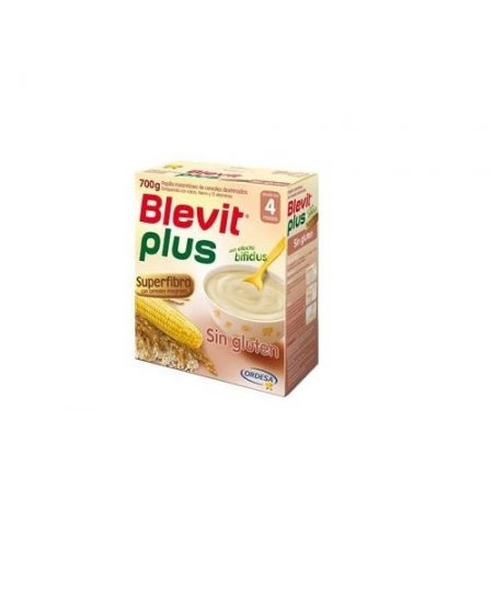BLEVIT PLUS SUPERFIBRA APTO DIETA SIN GLUTEN 1 ENVASE 600 G