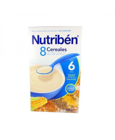 NUTRIBEN 8 CEREALES 1 ENVASE 600 G