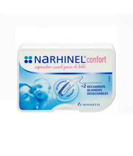NARHINEL CONFORT ASPIRADOR NASAL + MUESTRA