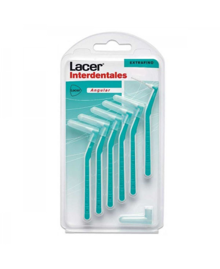 CEPILLO INTERDENTAL LACER EXTRAFINO ANGULAR