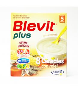 BLEVIT PLUS 8 CEREALES CON MIEL 1 ENVASE 600 G