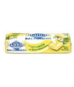 JUANOLA CARAMELOS LIMON VIT C Y HIERBAS MED 32.4 G