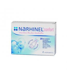 NARHINEL CONFORT ASPIRADOR RECAMBIO 20 BLANDO DESECHABLE