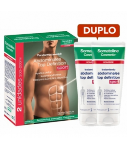 SOMATOLINE COSMETIC HOMBRE TOP DEFINITION TTO ABDOMINALES SPORT COOL 200 ML 2 U