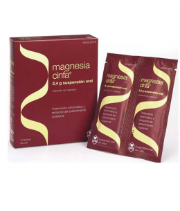 MAGNESIA CINFA 2.4 G 14 SOBRES SUSPENSION ORAL 12 ML