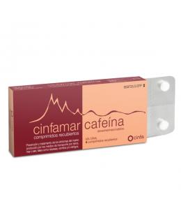 CINFAMAR CAFEINA 50/50 MG 4 COMPRIMIDOS