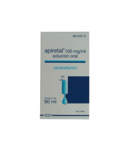 APIRETAL 100 MG/ML SOLUCION ORAL 90 ML