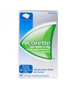 NICORETTE ICE MINT 4 MG 30 CHICLES