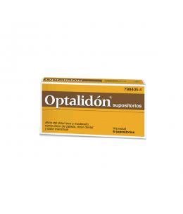 OPTALIDON 500/75 MG 6 SUPOSITORIOS