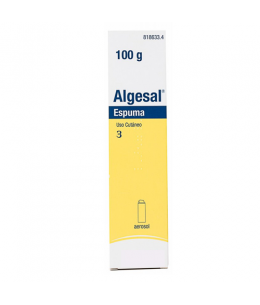 ALGESAL AEROSOL TOPICO ESPUMA 100 G