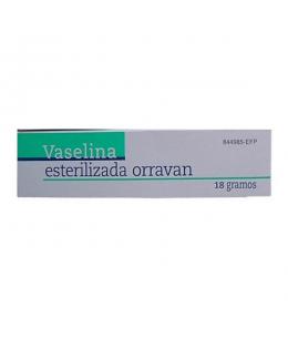 VASELINA ESTERILIZADA ORRAVAN POMADA 18 G