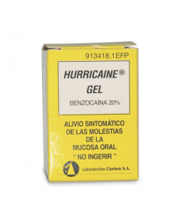 HURRICAINE 200 MG/ML GEL TOPICO 30 ML