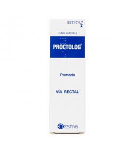 PROCTOLOG POMADA RECTAL 30 G