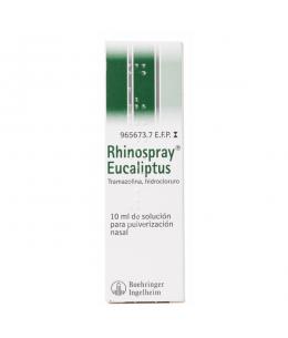 RHINOSPRAY EUCALIPTUS 1.18 MG/ML NEBULIZADOR NASAL 10 ML