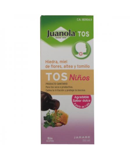 JUANOLA TOS JARABE NIÑOS 1 ENVASE 150 ML