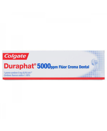 DURAPHAT 5000 PPM FLUOR CREMA DENTAL 51 G