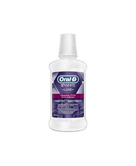 ORAL-B COLUTORIO 3DWHITE BRILLO SEDUCTOR 2 ENVASES 500 ML PACK
