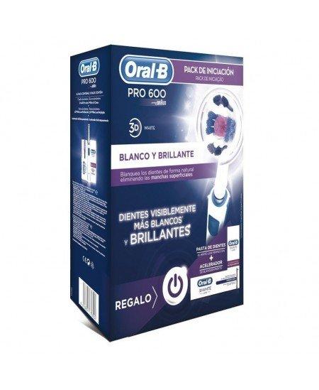 ORAL-B PRO 600 3D WHITE PACK