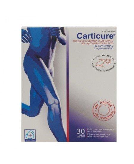 CARTICURE CONDROITINA + GLUCOSAMINA 30 SOBRES