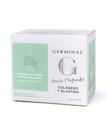 GERMINAL ACCION PROFUNDA COLAGENO Y ELASTINA 30 AMPOLLAS 1 ML